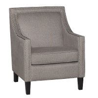 Ash Grey Accent Chair - Brooks