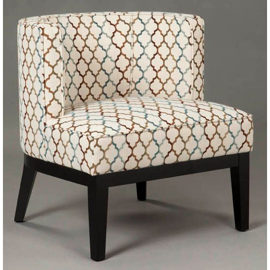 Teal Barrel Accent Chair   Innovations