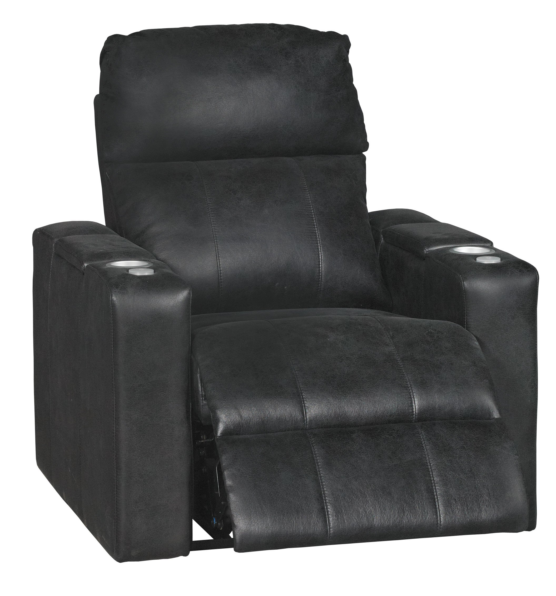 Eclipse Black Home Theater Power Recliner - Headliner  sc 1 st  RC Willey & Eclipse Black Power 3-Piece Reclining Home Theater Seating ... islam-shia.org