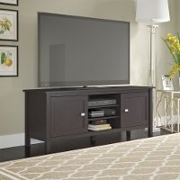 Espresso Oak 65 Inch TV Stand - Broadview