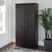 Espresso Oak 2-Door Tall Storage - Cabot
