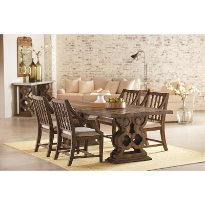 Magnolia Home Furniture 5 Piece Dining Set