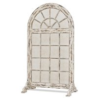 Large Creamy 2 Piece Regency Window with Stand Screen