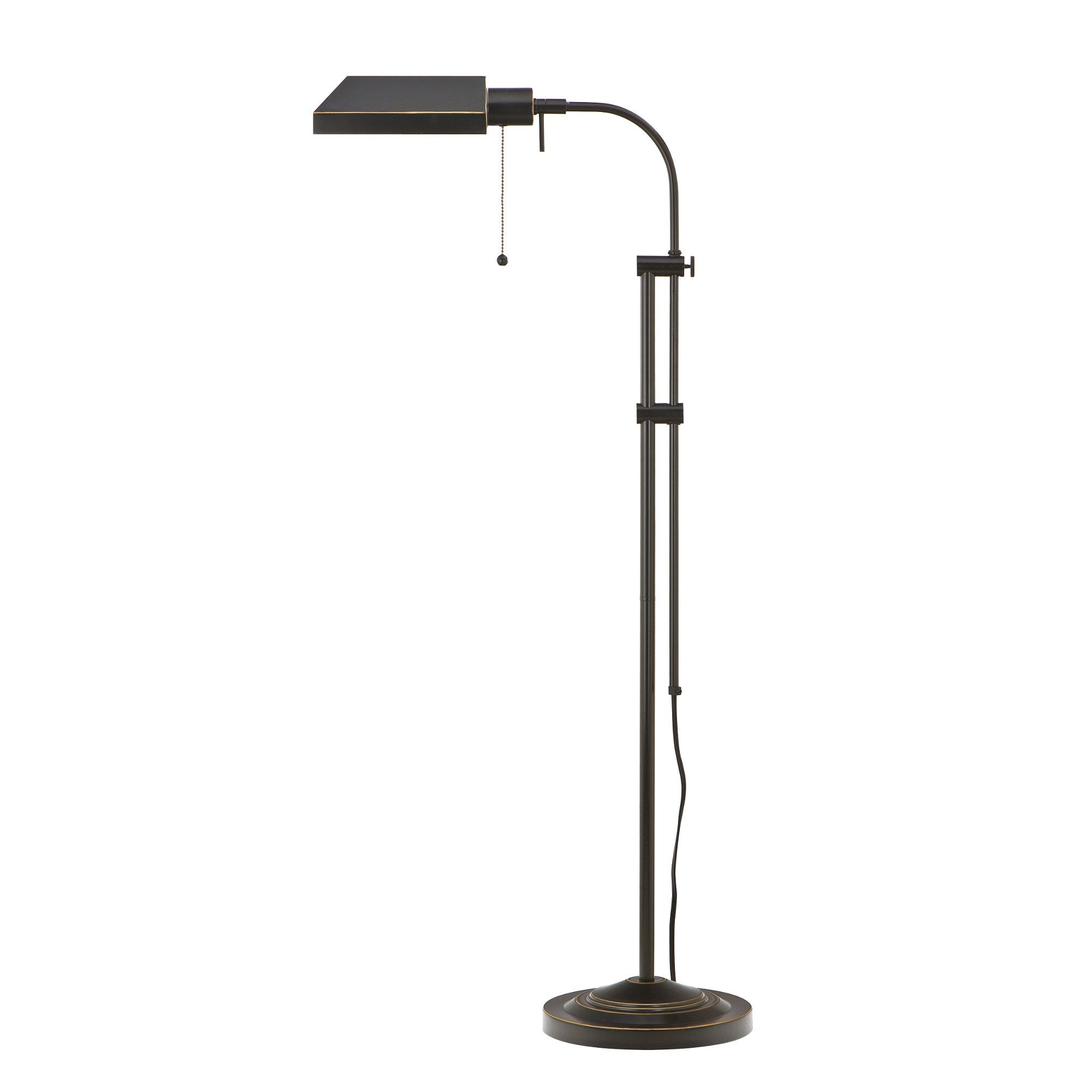 Pharmacy floor lamp with adjustable pole rc willey furniture store aloadofball Choice Image