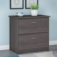 Heather Gray 2 Drawer Lateral File Cabinet - Cabot