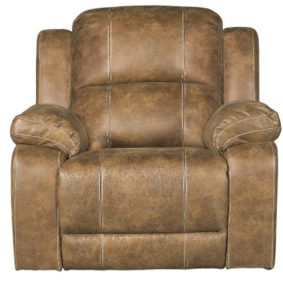 Badlands Saddle Brown Rocker Recliner - Charlotte  sc 1 st  RC Willey : saddle leather recliner - islam-shia.org