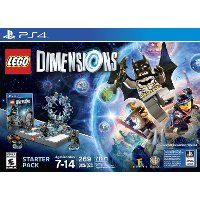 PS4 WAR 45038 LEGO Dimensions Starter Pack - PS4