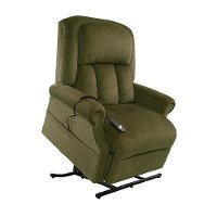Forest Green Reclining Lift Chair