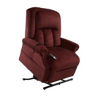 Bordeaux Red Reclining Lift Chair
