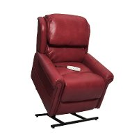 Red Power Recliner Lift Chair