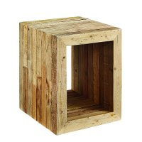 Magnolia Home Furniture Driftwood Accent End Table