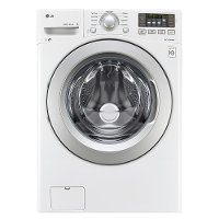 WM3270CW LG Front Load Washer - 4.5 cu. ft. White