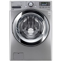 WM3670HVA LG Front Load Washer with Steam Technology - 4.5 cu. ft. Graphite Steel