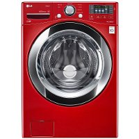 WM3670HRA LG 4.5 Cu. Ft. Front Load Washer - Red