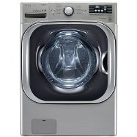 WM8100HVA LG Front Load Washer with TurboWash - 5.2 cu. ft.  Graphite Steel