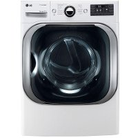 DLEX8100W LG 9.0 cu. ft. Electric Dryer with TrueSteam - White