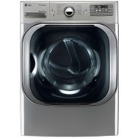 DLGX8101V LG Gas Dryer with Steam Technology - 9.0 cu. ft. Graphite Steel