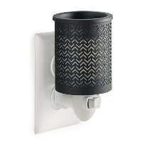 PICEV/CHEVRON/WARMER Metal Chevron Pluggable Fragrance Warmer - Candle Warmers