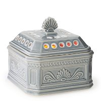 WCELA/ELLA/AIRE Blue-Gray Candle Aire Fan Fragrance Warmer - Candle Warmers