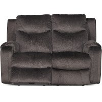 Coffee Brown Power Reclining Loveseat