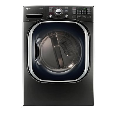DLGX4371K LG Gas Dryer with Steam - 7.4 cu. ft. Black Stainless Steel