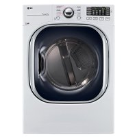 DLEX4370W LG Electric Dryer with Steam - 7.4 cu. ft. White