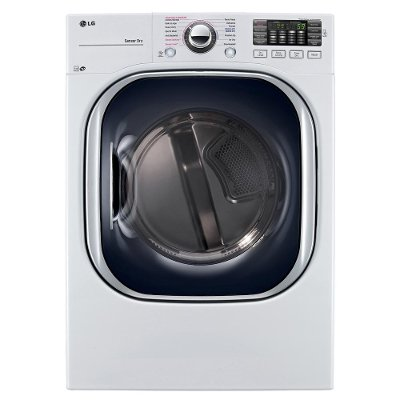 DLEX4370W LG Electric Front Load Dryer - 7.4 cu. ft. White