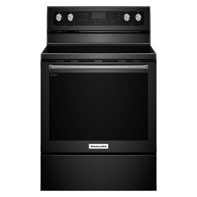 KFEG500EBS KitchenAid Electric Range - 6.4 cu. ft. Black Stainless