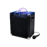 iPA25 ION Audio Party Rocker Live - Bluetooth Speaker with Party Lights