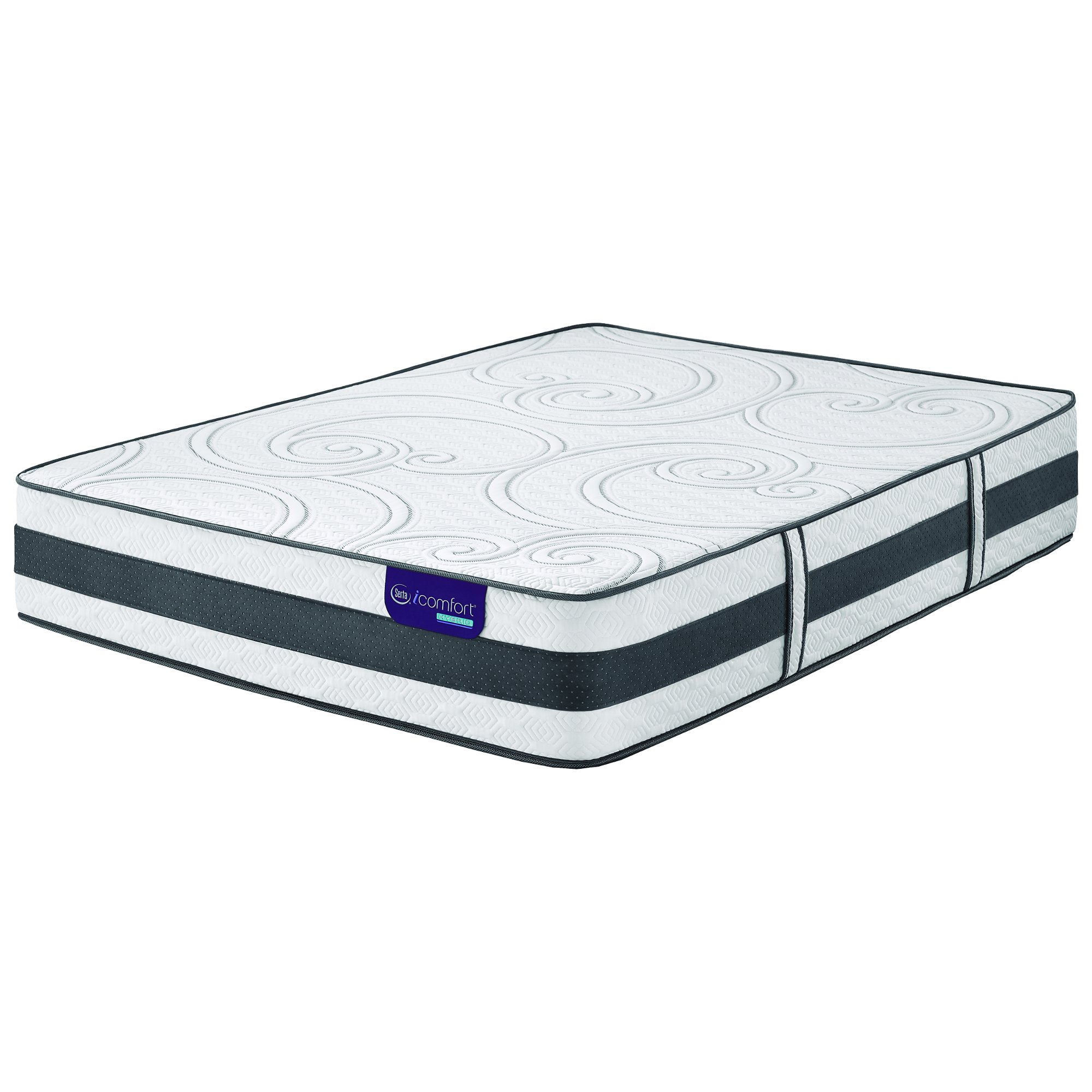 serta icomfort visionaire plush king size mattress rc willey