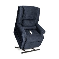 Navy Infinite Position Reclining Lift Chair