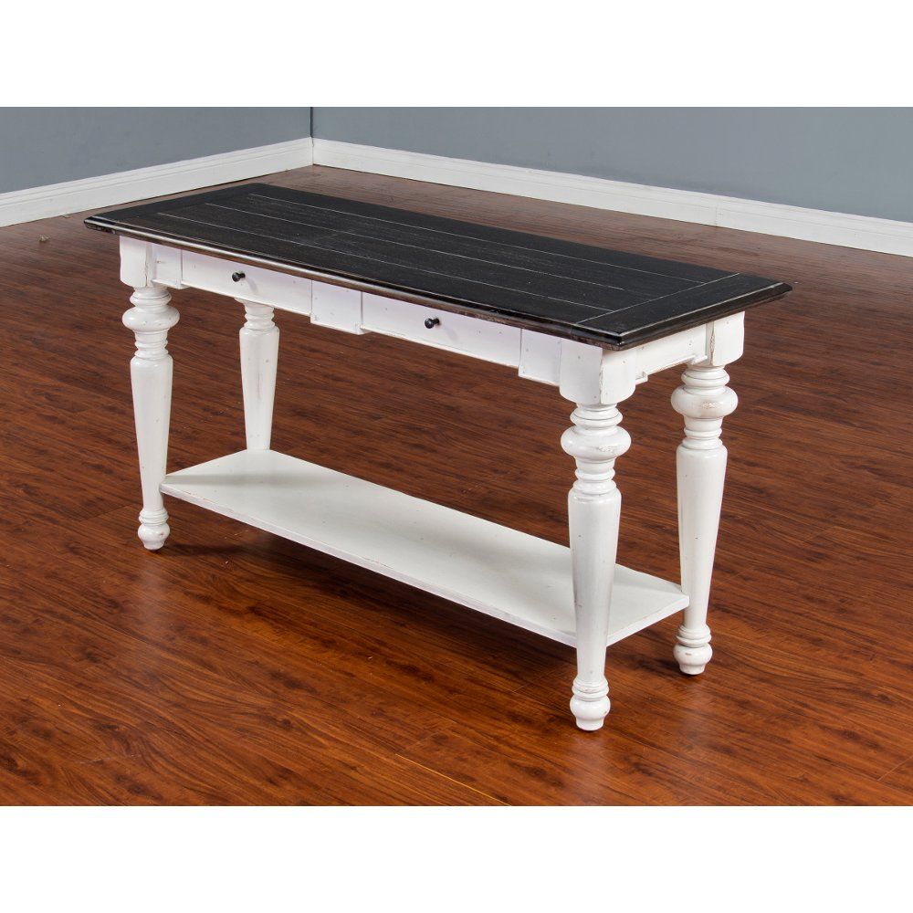 Buy a sofa console table at rc willey for your den european cottage charcoal gray white sofa table geotapseo Image collections