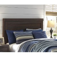 Brown Casual Classic King Headboard - Arkaline