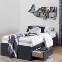10422 Twin Mates Bed with 3 Drawers - Aviron