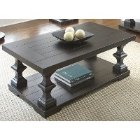 hitchcock company wood coffee table   rc willey furniture store