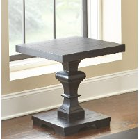 Ebony End Table - Dory