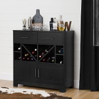 10470 Bar Cabinet with Bottle Storage and Drawers - Vietti