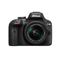 1571 Nikon Black D3400 with 18-55MM Lens