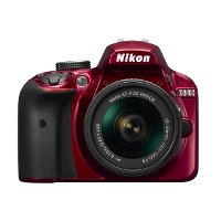 1572 Nikon Red D3400 with 18-55MM Lens