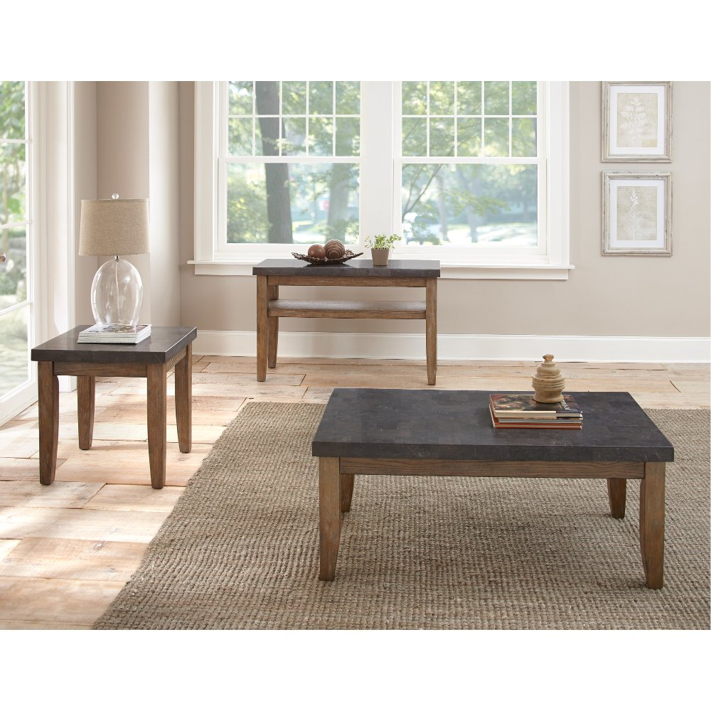 Modern Contemporary Bluestone Top Sofa Table - Debby | RC Willey Furniture  Store