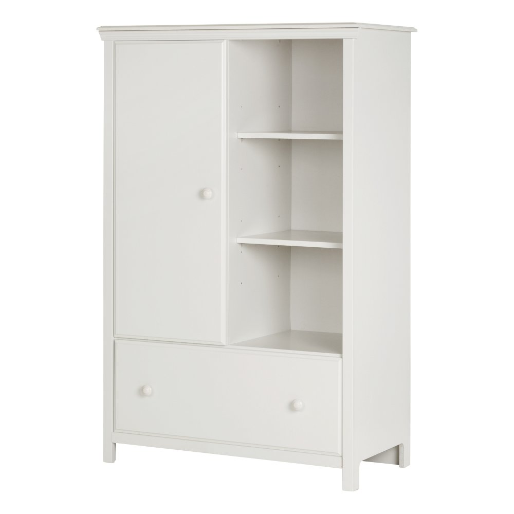 White Armoire With Drawers 387