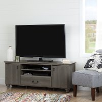 10238 Gray Maple 65 Inch TV Stand - Noble