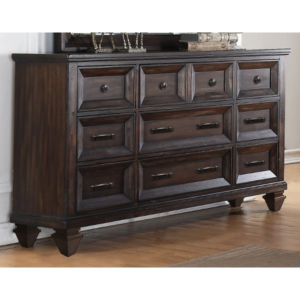 Classic Traditional Brown Traditional Dresser   Sevilla