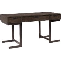 Hickory Brown Writing Desk - Harper Point