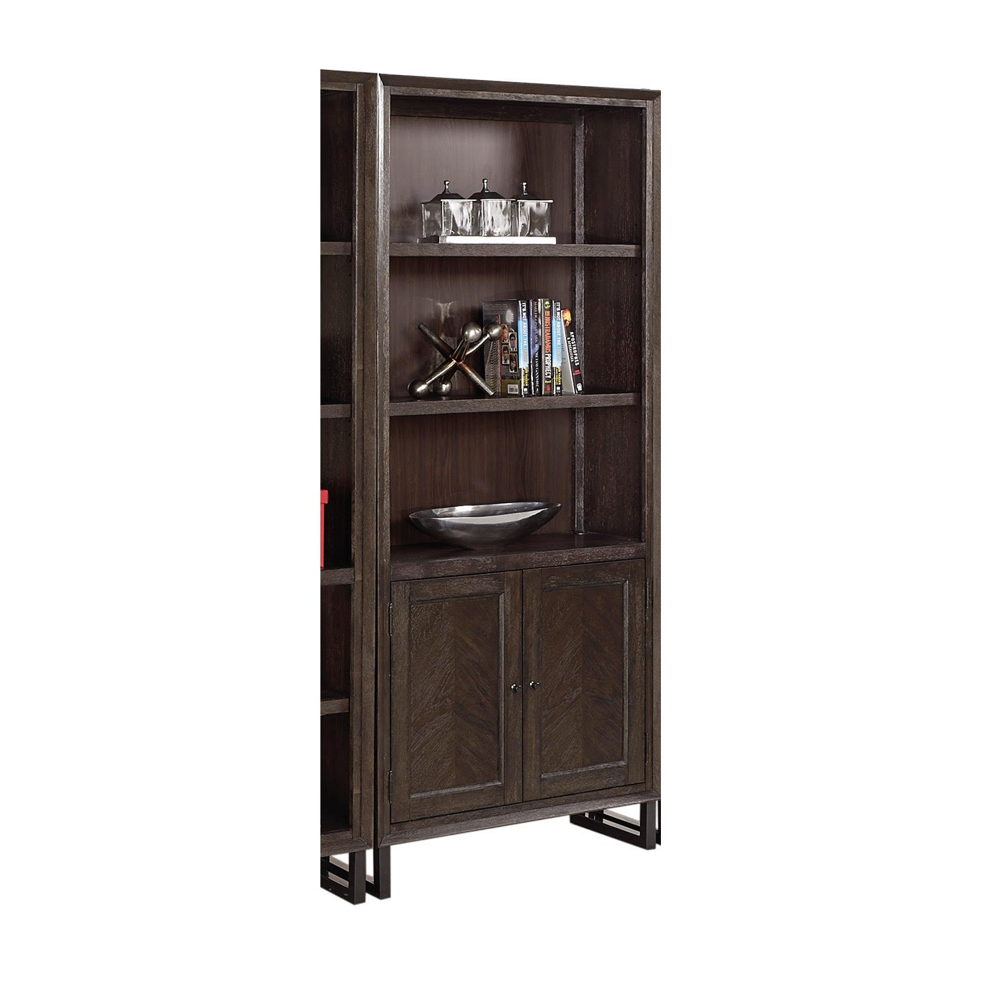 driftwood aspenhome with drf bookcase number inch item bookcases products contemporary