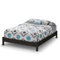 10561 Gray Oak Queen Platform Bed - Tao