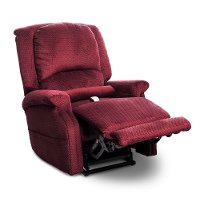 Bordeaux Red Power Recliner Lift Chair