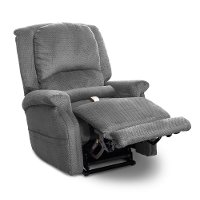 Denim Blue Power Recliner Lift Chair