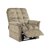 Kaysen Mushroom Color Power Reclining Lift Chair