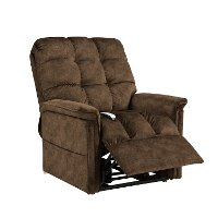 Rust Power Recliner Lift Chair